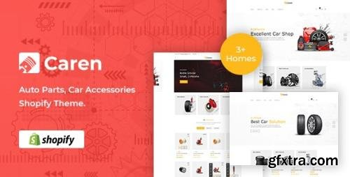 ThemeForest - Caren v1.0.0 - Auto Parts, Car Accessories Shopify Theme - 31460278