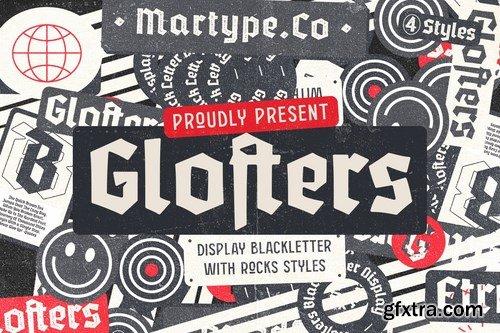 Glofters - Display Blackletter