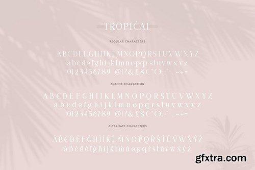 Tropical Serif Font