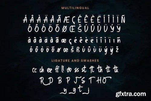 Osnabrug Font Quirky Handwritten