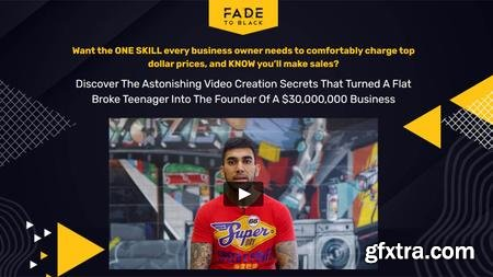 Joey Xoto - Fade To Black - Video Creation Secret for Business Owner