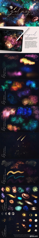 CreativeMarket - Galaxy Brushes for Procreate 5992272