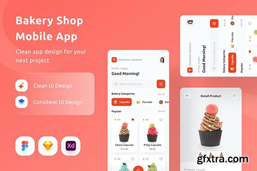 Bakery Shop Mobile App