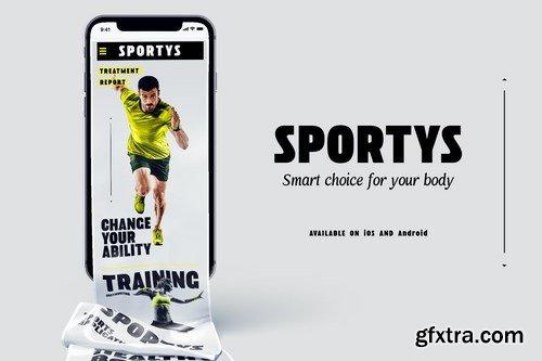 CM - Sporadic - Modern Sport Sans 6060484