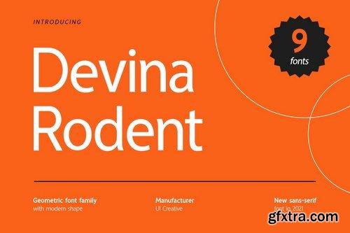 Devina Rodent Sans Serif Font Family