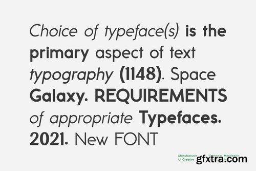 Mondapick Sans Serif Font Family