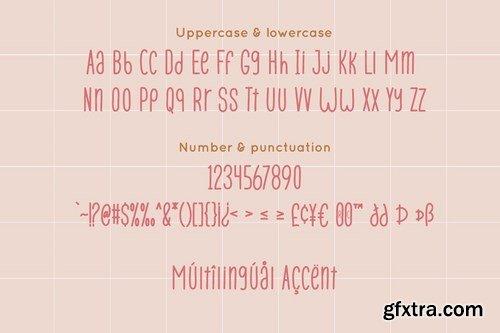 Pana Summer - Display Sans-Serif Font Duo