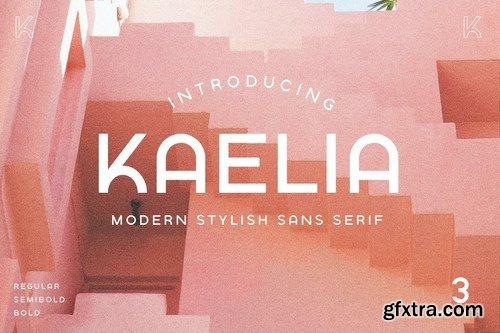 KAELIA - Simple Stylish Typeface