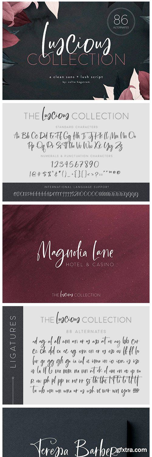CM - The Luscious Font Collection 4148635