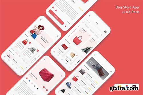 Bag Store App UI Kit Pack