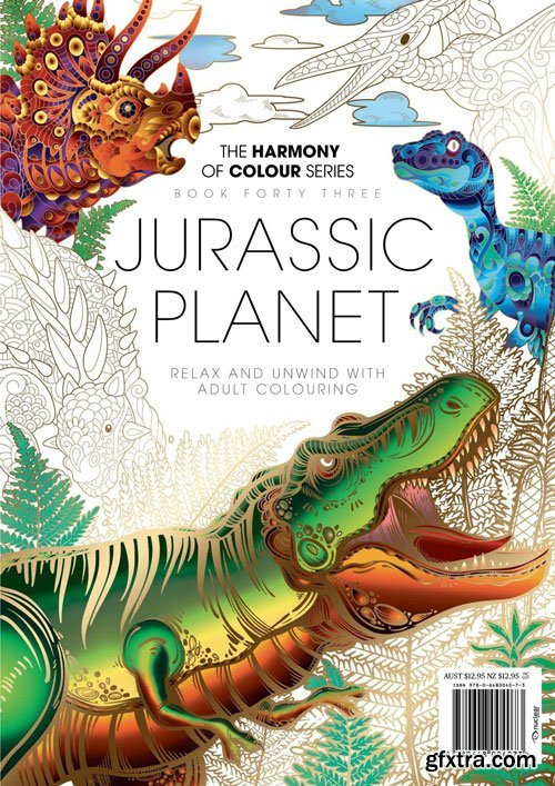 Harmony of Colour Book Forty Three: Jurassic Planet