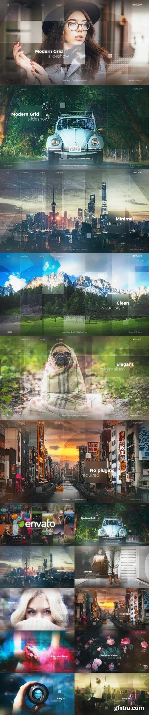 Videohive - Modern Grid Slideshow - 29796409