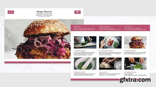 Learn Adobe InDesign: By Creating a Recipe Card