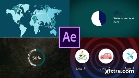 Adobe After Effects: Infographics & data visualization