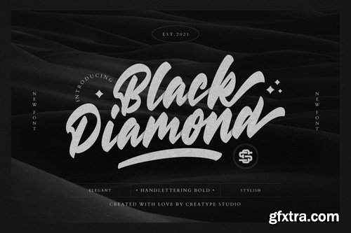 Black Diamond Handlettering Bold