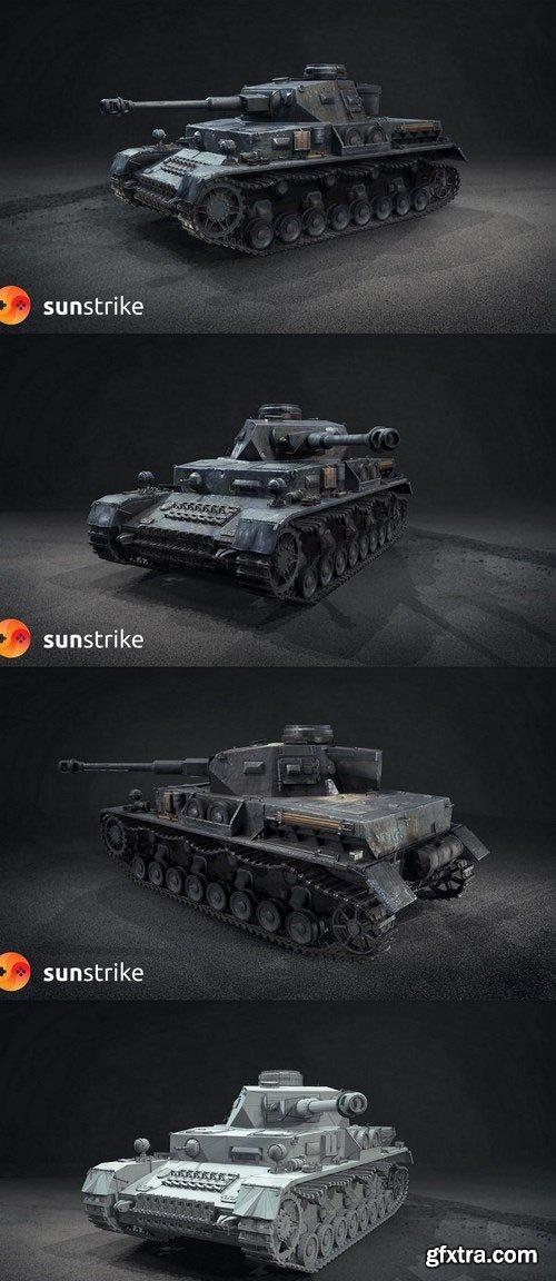WW2 German Tank PzKpfw IV