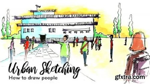 Urban Sketching: How to draw people