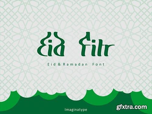 Eid Fitr Font