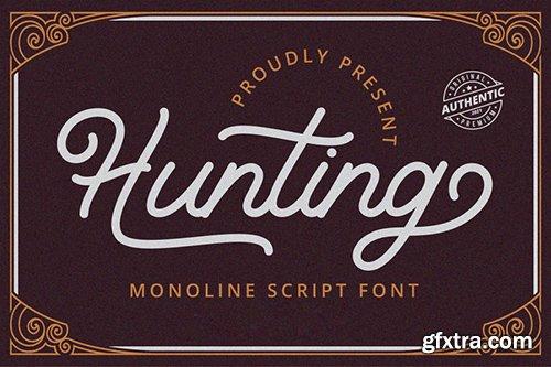 Hunting Font