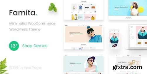 ThemeForest - Famita v1.30 - Minimalist WooCommerce WordPress Theme - 22308715