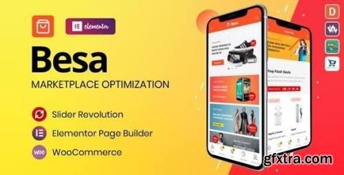 ThemeForest - Besa v1.3.0 - Elementor Marketplace WooCommerce Theme - 25205400