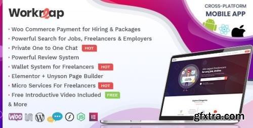 ThemeForest - Workreap v2.1.4 - Freelance Marketplace and Directory WordPress Theme - 23712454