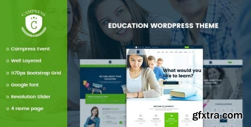 ThemeForest - Campress v1.20 - Responsive Education WordPress Theme - 19355619