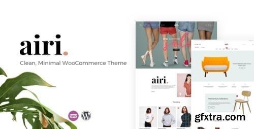 ThemeForest - Airi v1.2.1 - Clean, Minimal WooCommerce Theme - 22650892