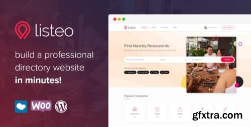 ThemeForest - Listeo v1.6.14 - Directory & Listings With Booking - WordPress Theme - 23239259 - NULLED