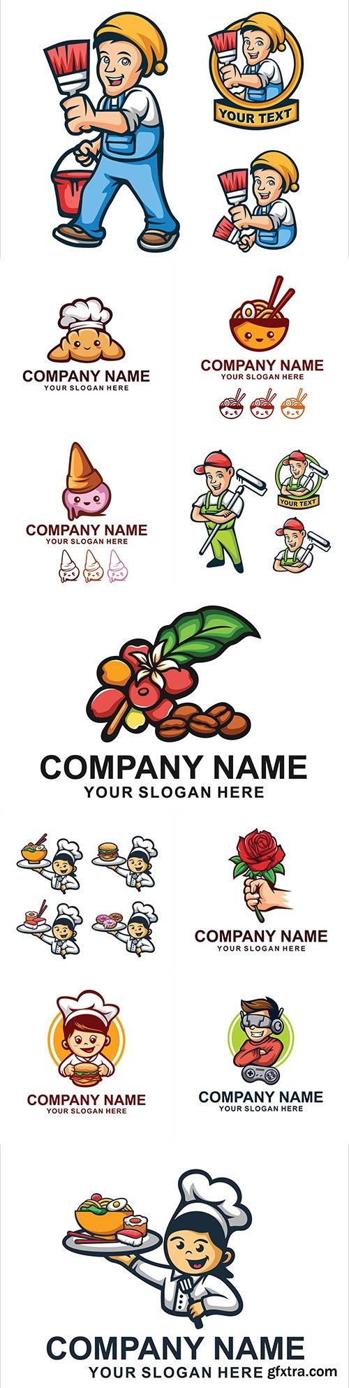 Brand name company business corporate logos design 28