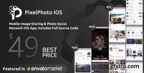 CodeCanyon - PixelPhoto IOS v1.0.4 - Mobile Image Sharing & Photo Social Network - 23318997