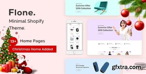 ThemeForest - Flone v2.0.4 - Minimal Shopify Theme - 23362593