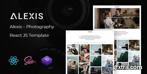 ThemeForest - Alexis v1.0 - Photography React JS Template - 31642134