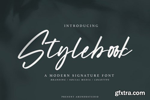 Stylebook - Modern Signature Font
