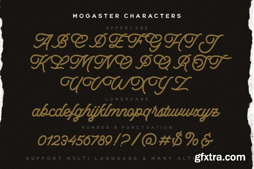 CM - The Mogaster - Monoline Script 6076799