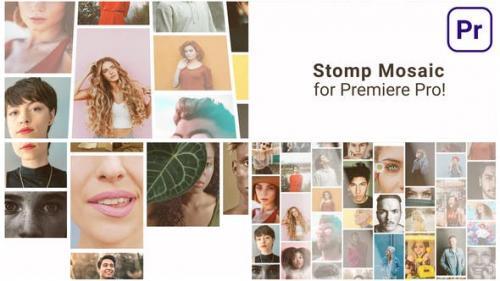 Videohive - Mosaic Stomp Multi Photo Logo