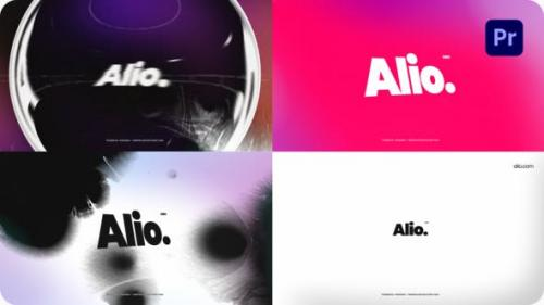 Videohive - Glitch Logo For Premiere Pro