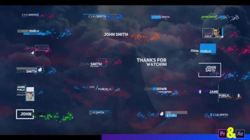 Videohive - Creative Lower Third With Particles