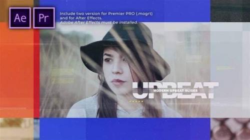 Videohive - Modern Upbeat Slides