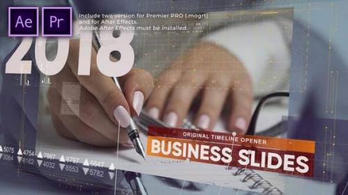 Videohive - Business Timeline Slides