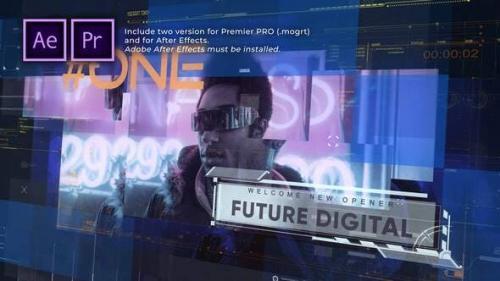 Videohive - Future Digital Opener Presentation