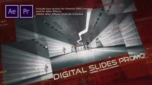 Videohive - Digital Slides Promo