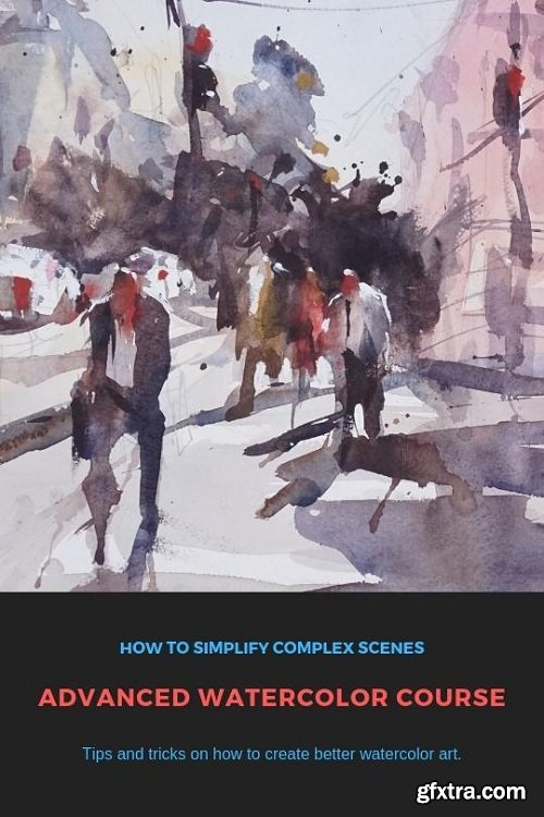 Advanced Watercolor Landscape Master Class - Tips For Painting Loose And Fresh