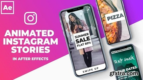 Animated Instagram Stories in After Effects