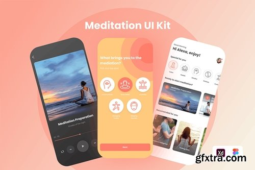 Meditation UI KIT