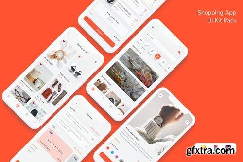 Shopping App UI Kit Pack