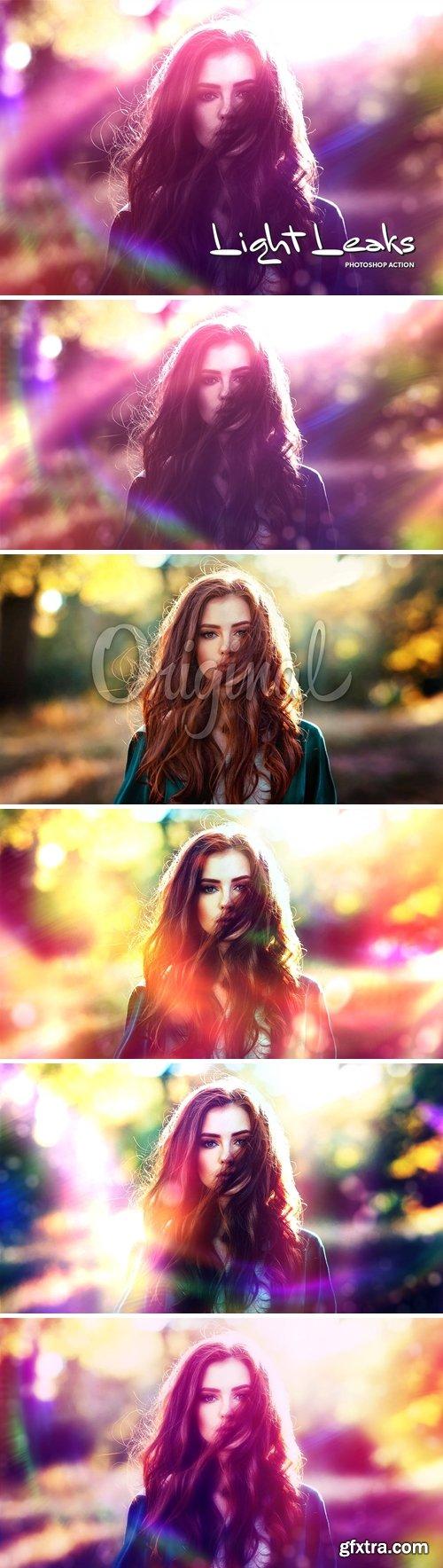 Light Leaks CS4+ Photoshop Action