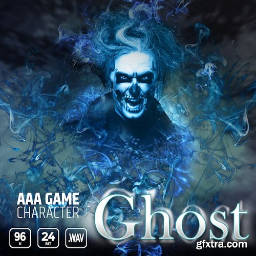 Epic Stock Media AAA Game Character Ghost WAV