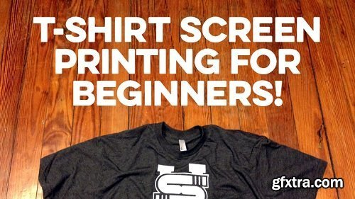 T-Shirt Screen Printing for Beginners!