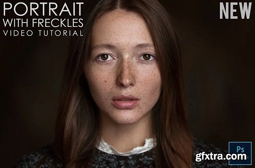 Maxim Guselnikov - Portrait With Freckles Video Tutorial